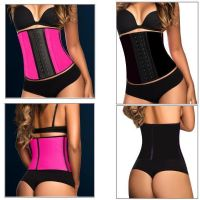 New Latex Underbust Body Shaper Waist Clincher Training Trainer Belt Corset
